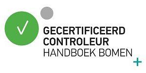 logo gecertificeerd controleur handboek bomen